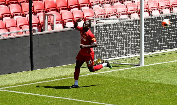 Match d'entraînement : Sadio Mane et Naby Keita buteurs à Anfield