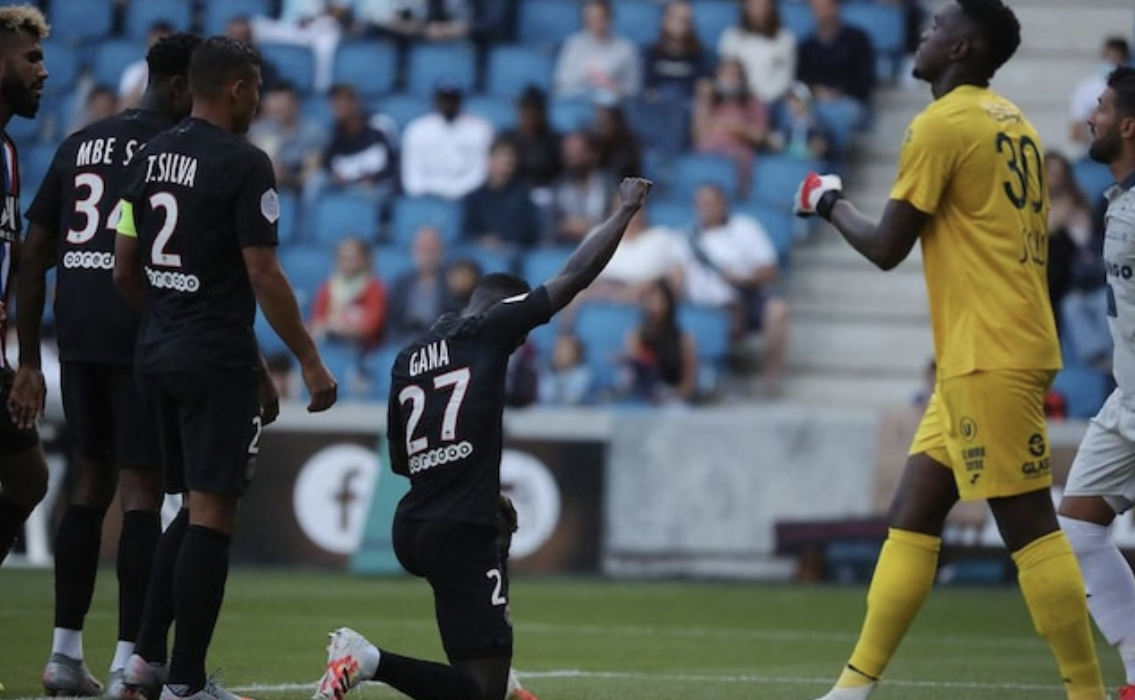 Le Havre-PSG : Idrissa Guèye premier parisien à avoir rendu un ...