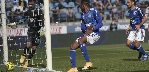 Ligue 1: Habib Diallo buteur pour sa première avec Strasbourg