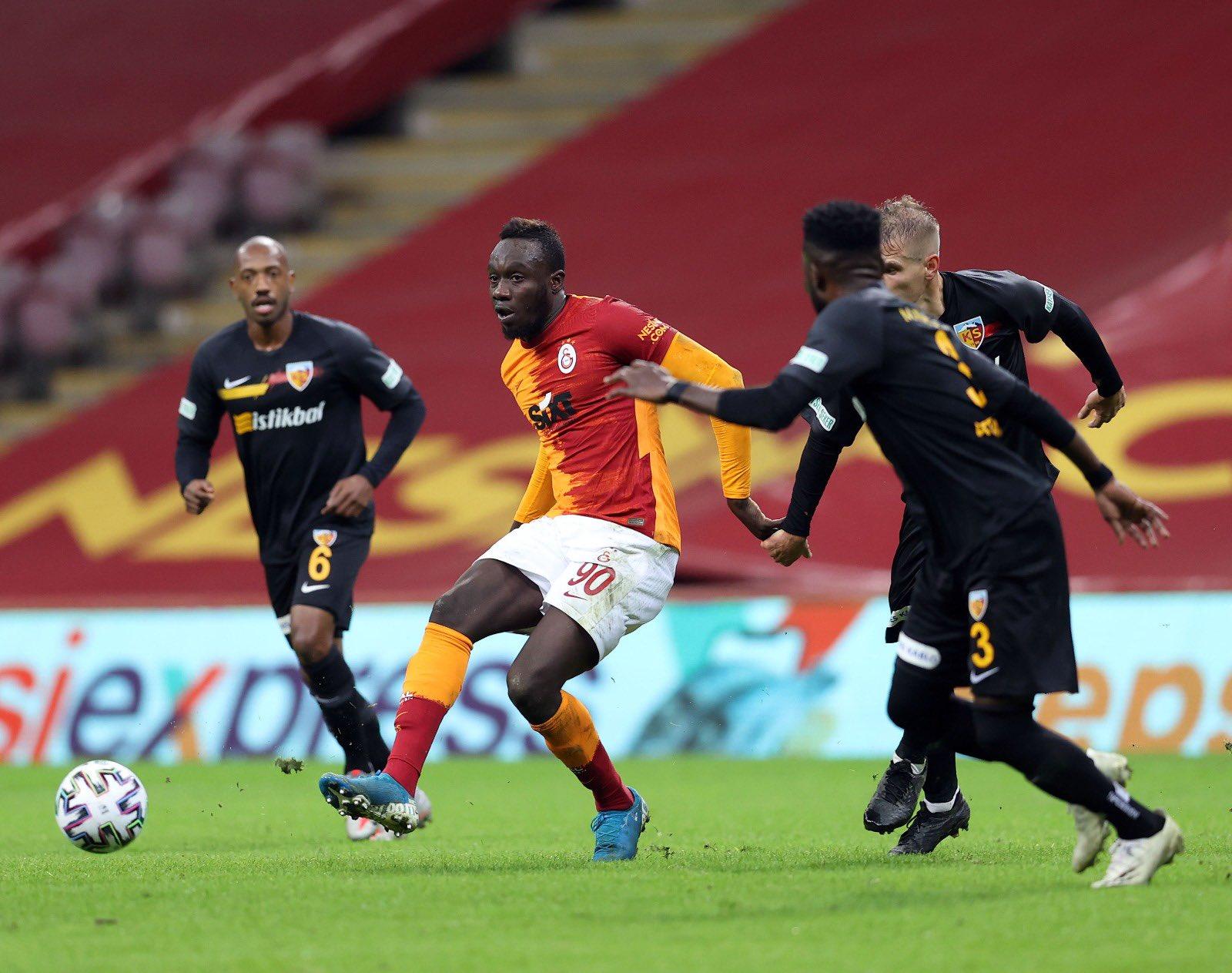 Turquie – Galatasaray: Mbaye Diagne marque son premier but de la saison !