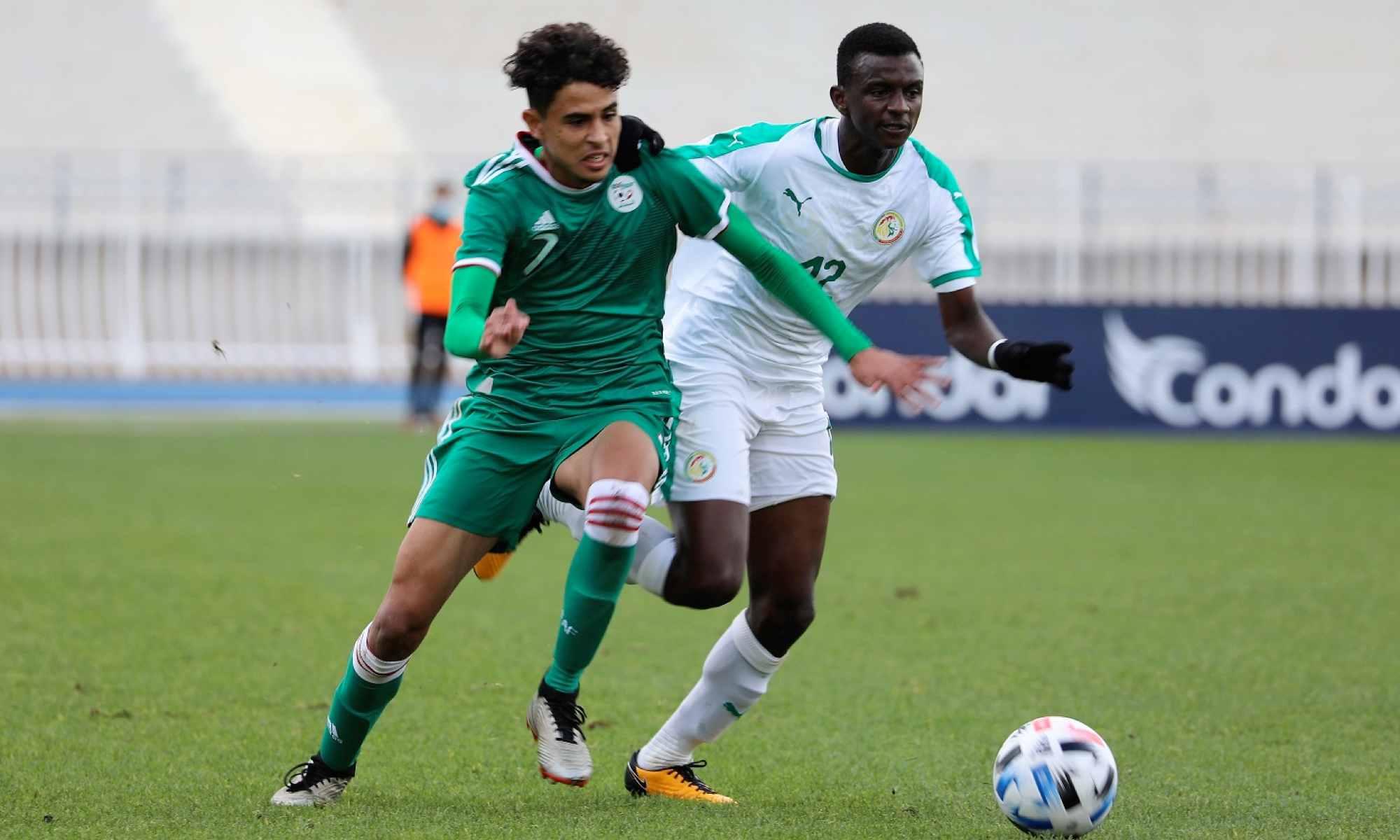 U 17 : Le Sénégal gagne encore face à l'Algérie (photos)
