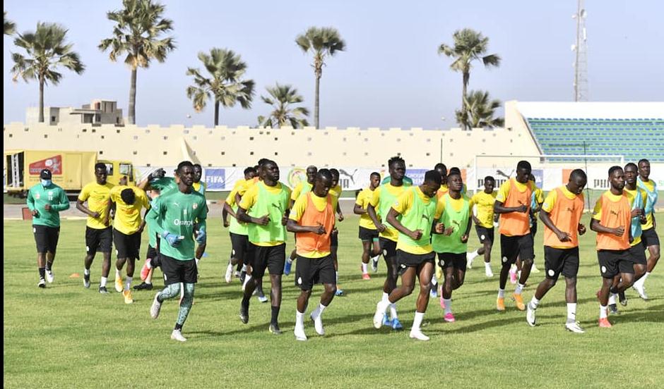 (Photos) Equipe nationale : Deux absents notés à l'entrainement au Stade Lat Dior !