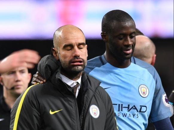 Manchester City : Yaya Touré a tenté de s'excuser auprès de Guardiola qui l'ignore