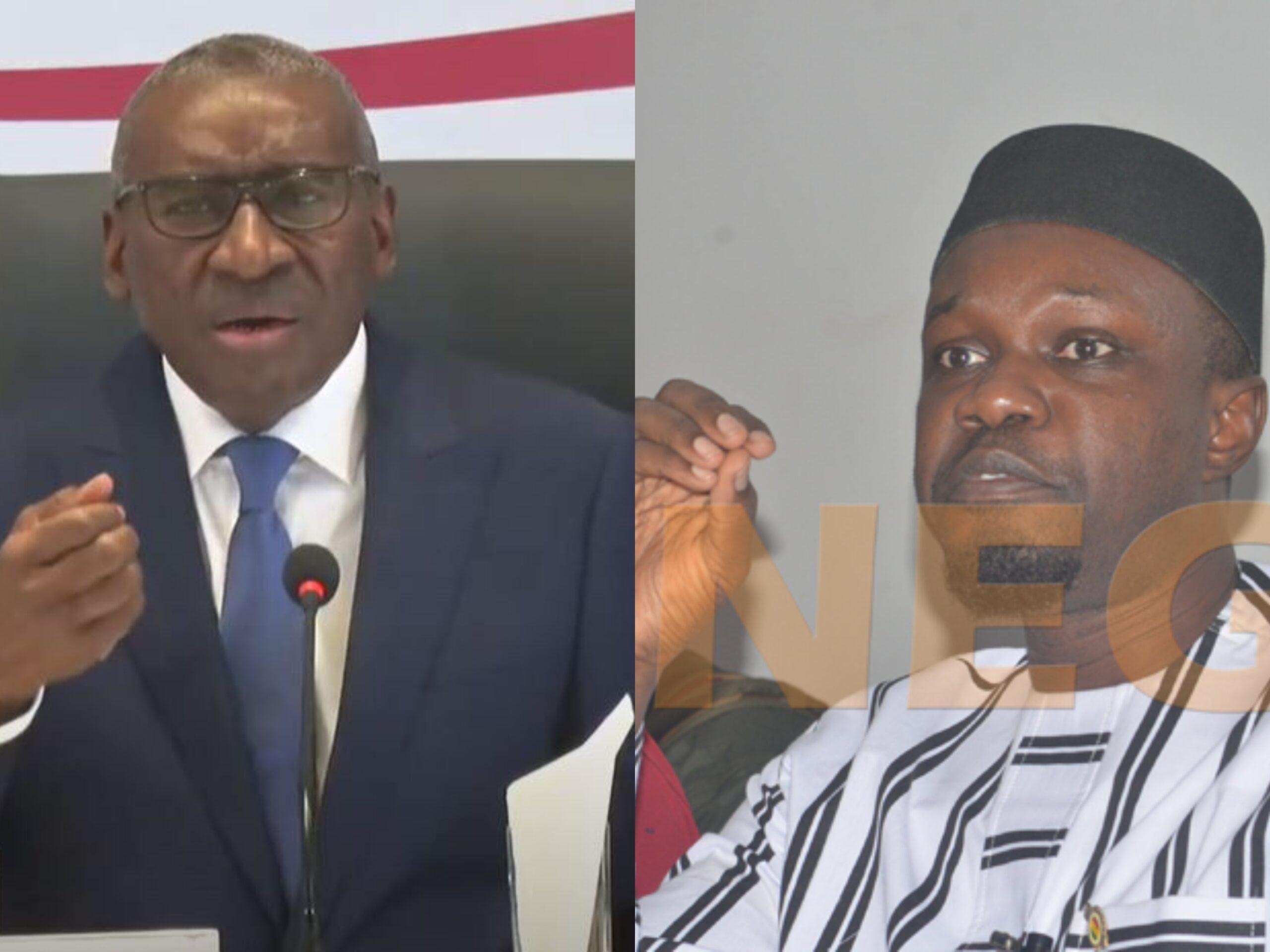 Emeutes : La réponse de Sidiki Kaba à Ousmane Sonko et aux Ong qui accusent l'Etat