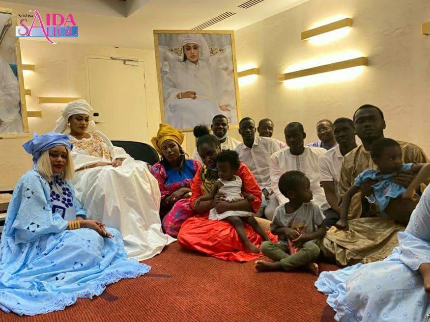 ( Photos) : Sokhna Aida accueillie comme une reine par ses fidèles talibés de Toulouse