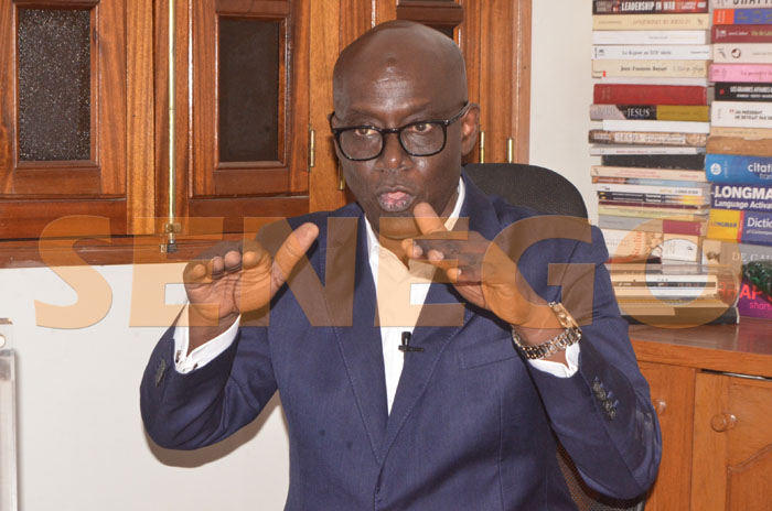 """Thierno Alassane Sall: """"Selective application of the law declares the collapse of a Nation"""""""