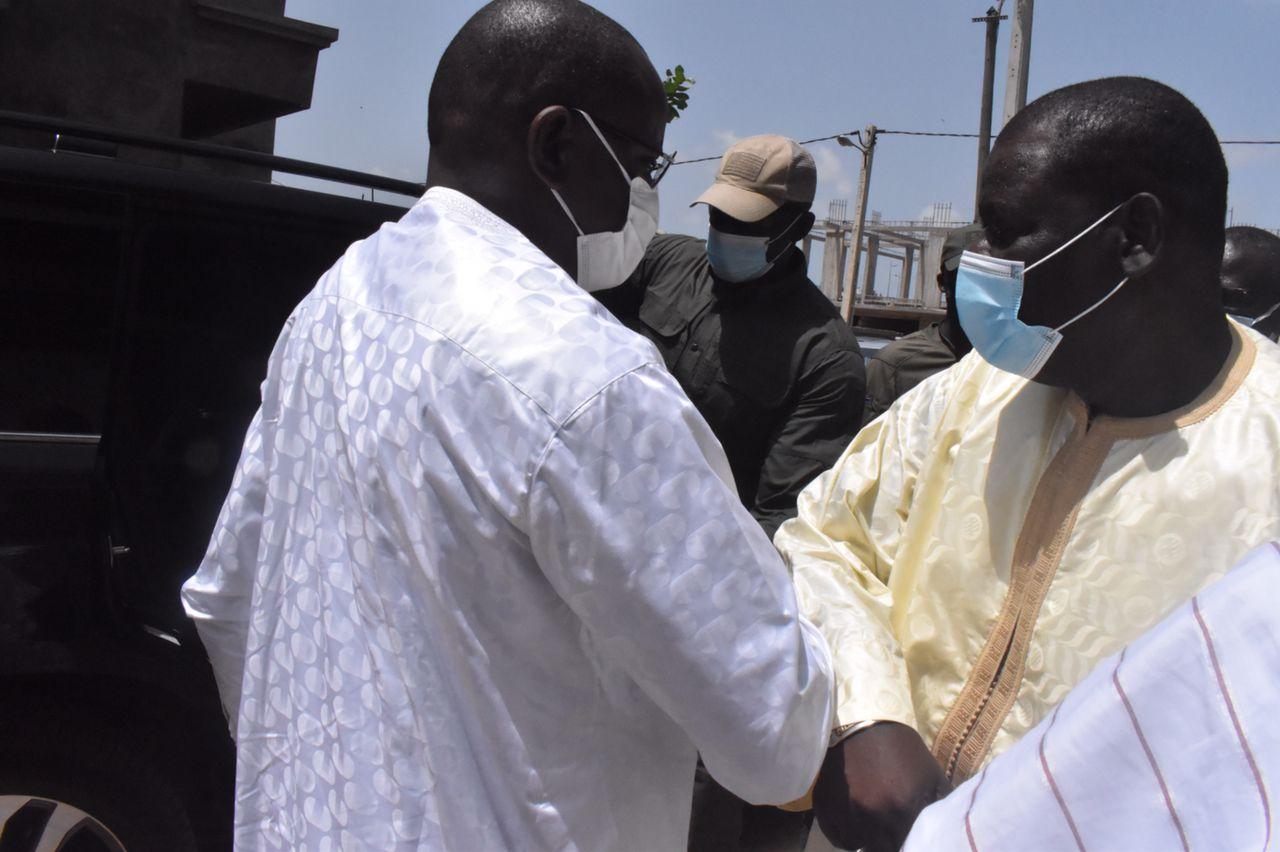 Présentation de condoléances : Le Ministre Matar BA était chez Balla GAYE 2 (photos)