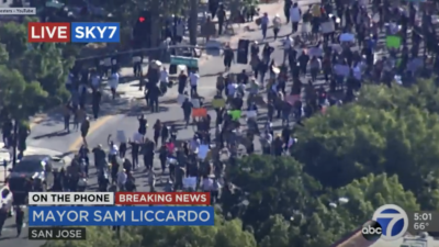 Group protesting George Floyd death shuts down California freeway -- WATCH LIVE - YouTube 2020-05-30 02-57-37